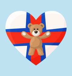 Faroese Teddy Bears vector image vector image