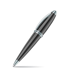 pen isolated on the white background vector image