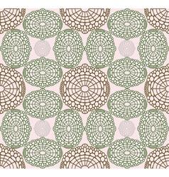 Rosy pattern vector