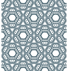 Psychedelic abstract monochrome seamless pattern vector