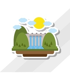 Save energy icon design vector
