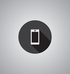 Smartphone symbol flat vector image