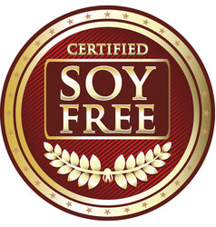 Soy free icon vector
