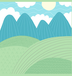 Doodles cute backdrop summer theme vector