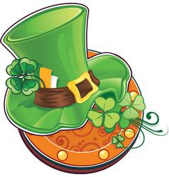st patricks day symbol the leprechauns hat vector image