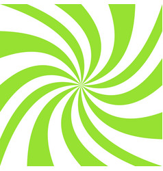 Geometric swirl background - graphic from green vector