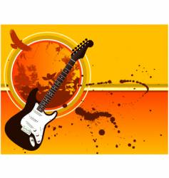 music grunge bg vector image vector image