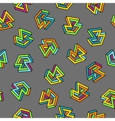 Pattern 80s seamless background retro vector