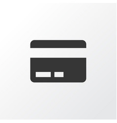 Payment icon symbol premium quality isolated card vector