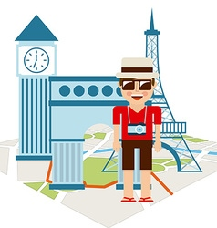 travel vacations vector image