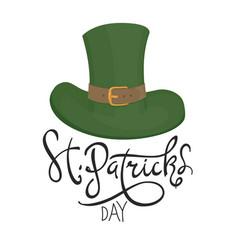 Saint patricks hat symbol celebration design for vector