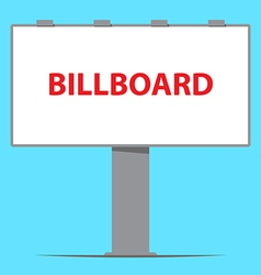 Billboard board outdoor advertising vector