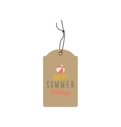 Special summer label vector