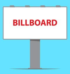 billboard board outdoor advertising vector image