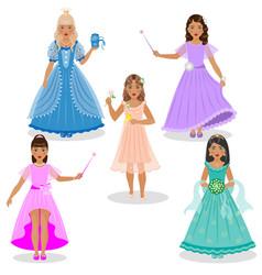 fairy set vector image