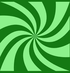 Geometrical spiral background - from green vector