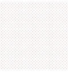 Red Dots White Background vector image