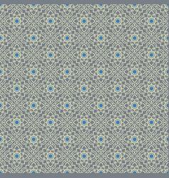 Silver gray vintage seamless wallpaper vector