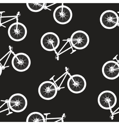 bike seamless pattern vector image