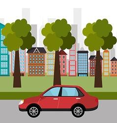 City transport design vector
