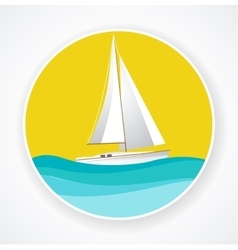 Ship sign vector