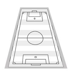 Vertical football field vector