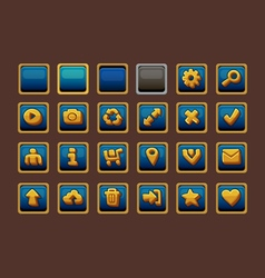 Additional buttons vector