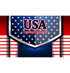 american template background vector image vector image
