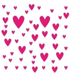 Heart love pattern icon vector