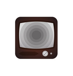 Old television media vector