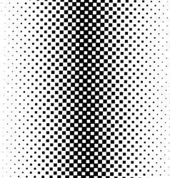 Seamless monochrome square pattern vector image