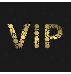 Vip luxury symbol vector