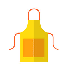apron working or protective clothing for the vector image