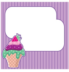 Frame for a photo form vector image