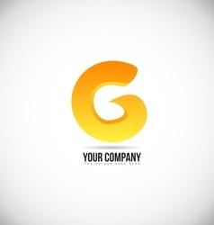 Alphabet letter g logo icon design vector