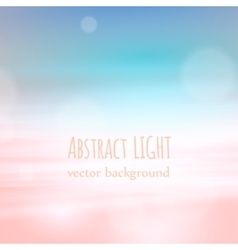 Beautyful nature abstract background with bokeh vector