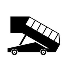 Landing ramp vector