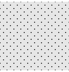 Seamless black and grey pattern or tile background vector image vector image