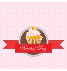 Sweetest day vector
