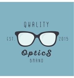 Glasses logos brand trend sign vector