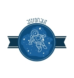 Space icons design vector