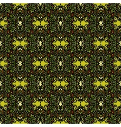Paisley seamless pattern background vector image