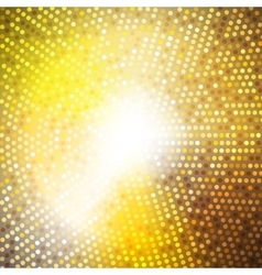 Circle radius abstract golden background vector
