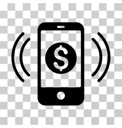 Payment Phone Ring Icon vector image