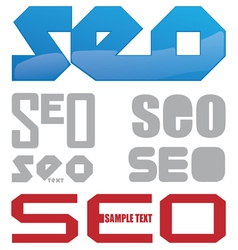 Seo icon project vector