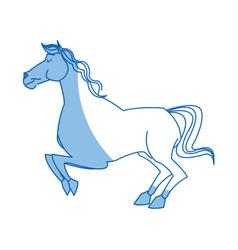 Horse caurosel game carnival celebration image vector