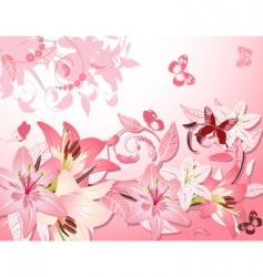 Flower fantasy vector