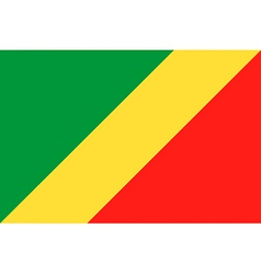 Republic of the congo flag vector