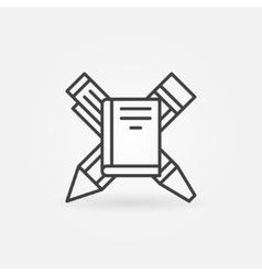 Education concept logo or icon vector