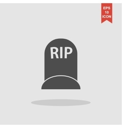 grave icon concept for design vector image